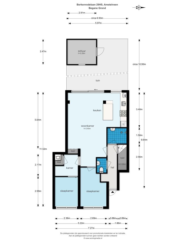 Berkenrodelaan 29 huis 1181 AH, Amstelveen, Noord-Holland Netherlands, 2 Slaapkamers Slaapkamers, ,1 BadkamerBadkamers,Appartement,Huur,Berkenrodelaan 29 huis,1315