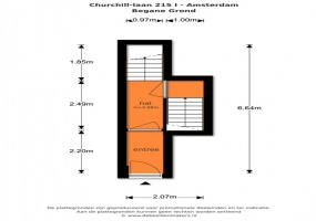 Churchill-laan 215-I 1078 ED, Amsterdam, Noord-Holland Netherlands, 3 Slaapkamers Slaapkamers, ,2 BadkamersBadkamers,Appartement,Huur,Churchill-laan 215-I,1356