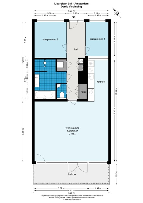 Ijburglaan 891, Amsterdam, Noord-Holland Nederland, 1 Slaapkamer Slaapkamers, ,1 BadkamerBadkamers,Appartement,Huur,Ijburglaan,3,1046
