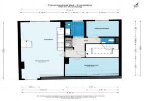 Pretoriusstraat 46 IV 1092 GH, Amsterdam, Noord-Holland Netherlands, 2 Bedrooms Bedrooms, ,1 BathroomBathrooms,Apartment,For Rent,Pretoriusstraat,3,1458