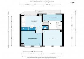 Schinkelkade 44 II 1075 VK, Amsterdam, Noord-Holland Nederland, 2 Slaapkamers Slaapkamers, ,1 BadkamerBadkamers,Appartement,Huur,Schinkelkade,2,1492
