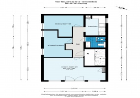 Van Woustraat 52 III 1073 LM, Amsterdam, Noord-Holland Nederland, 2 Slaapkamers Slaapkamers, ,1 BadkamerBadkamers,Appartement,Huur,Van Woustraat,3,1512