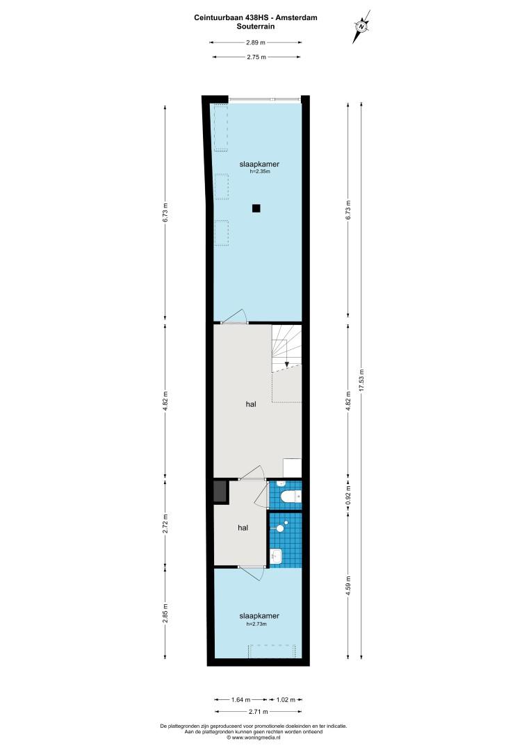 Ceintuurbaan 438 H 1074 EC, Amsterdam, Noord-Holland Netherlands, 3 Slaapkamers Slaapkamers, ,2 BadkamersBadkamers,Appartement,Huur,Ceintuurbaan,1518